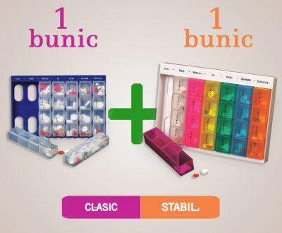 Idee de cadou ideală pentru 2 bunici, oferiți un organizator de medicamente la fiecare