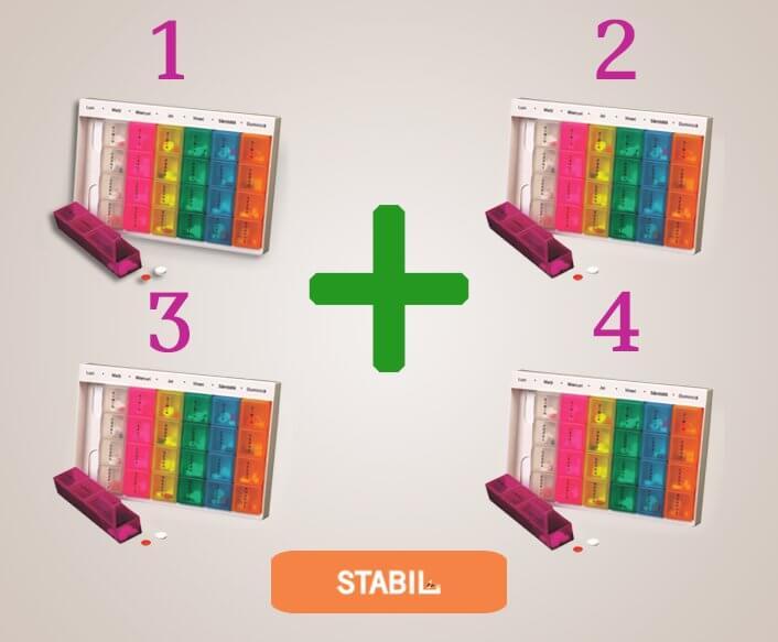 pachet promoțional organizartor medicamente